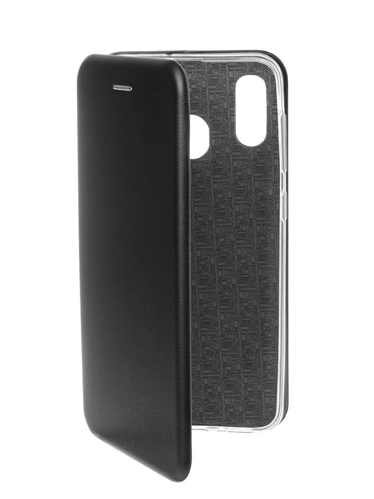 Чехол Zibelino для Samsung Galaxy A30 A305 2019 Book Black ZB-SAM-A305-BLK