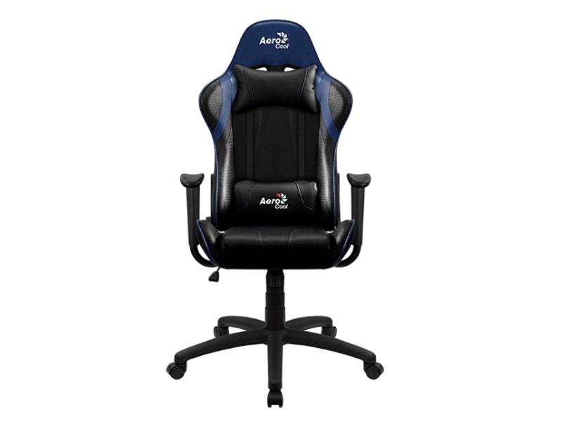 Компьютерное кресло AeroCool AC100 AIR Black-Blue