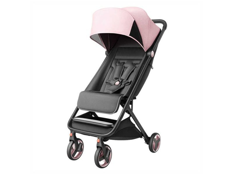 Коляска Xiaomi Mitu Baby Folding Stroller Pink xiaomi mitu scooter for 3 6 years old kids
