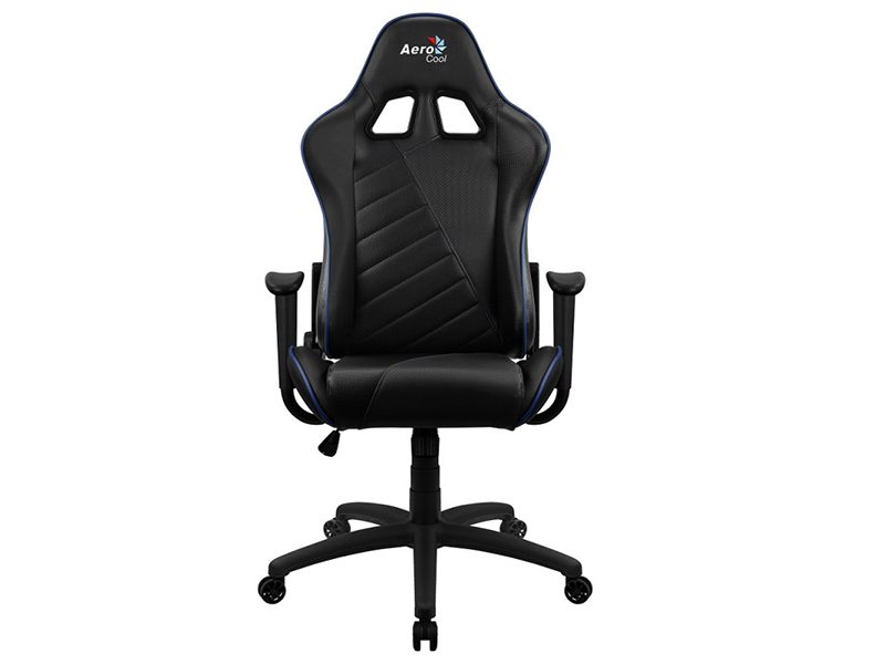 Компьютерное кресло AeroCool AC110 AIR Black-Blue