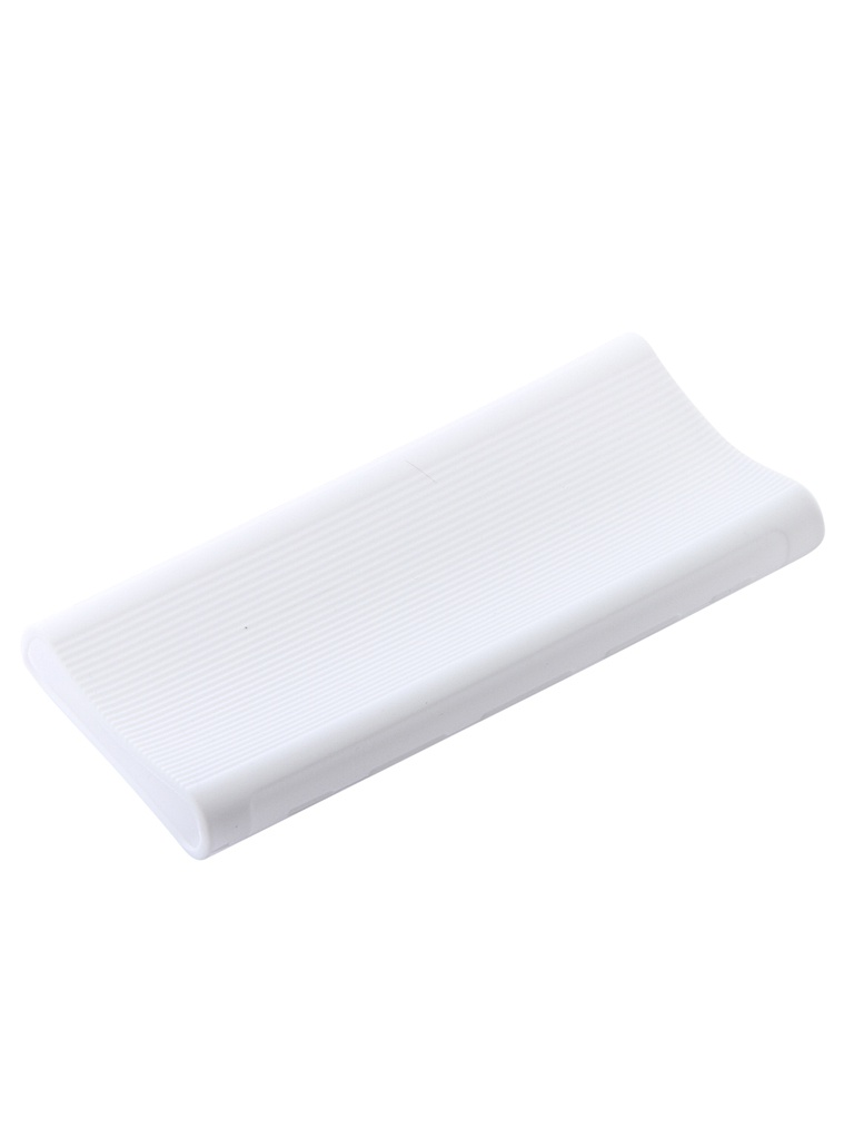 Чехол Xiaomi Silicone Case for Power Bank 3 20000mAh White аксессуар чехол xiaomi silicone case for power bank 3 20000mah blue