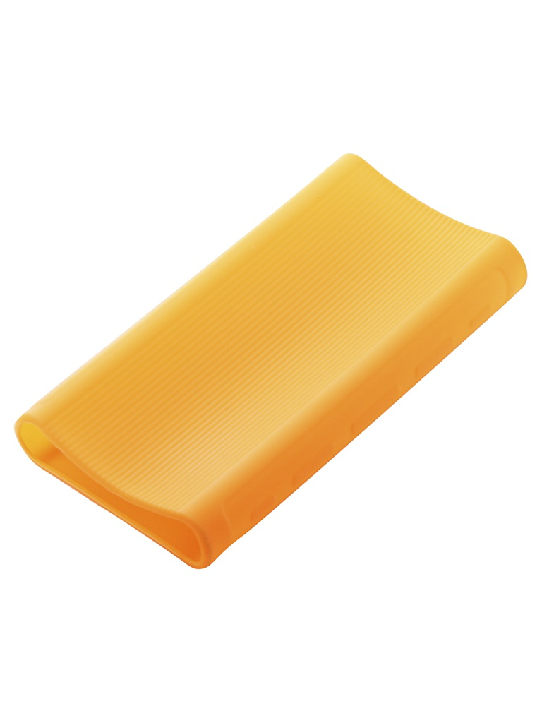 Чехол Xiaomi Silicone Case for Power Bank 3 20000mAh Orange аксессуар чехол xiaomi silicone case for power bank 3 20000mah blue