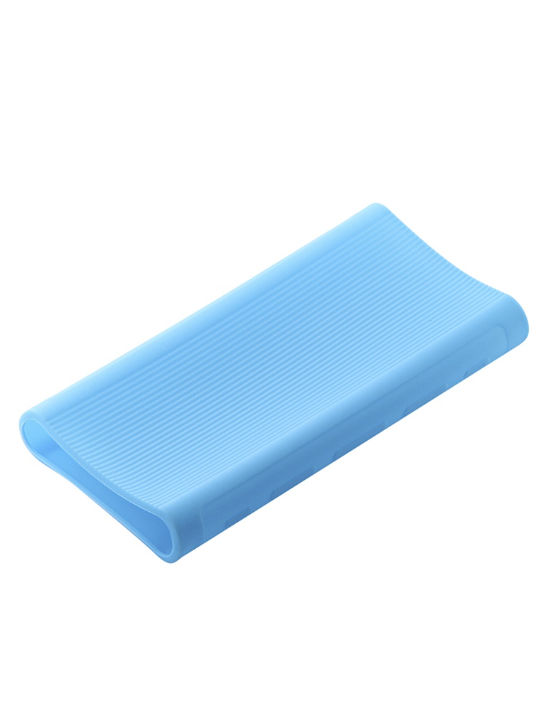 Чехол Xiaomi Silicone Case for Power Bank 3 20000mAh Blue аксессуар чехол xiaomi silicone case for power bank 3 20000mah blue