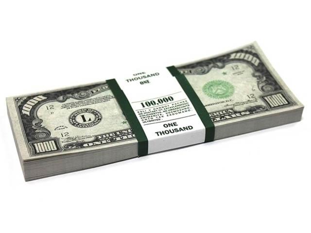 Эврика Забавная Пачка 1000 долларов 94910
