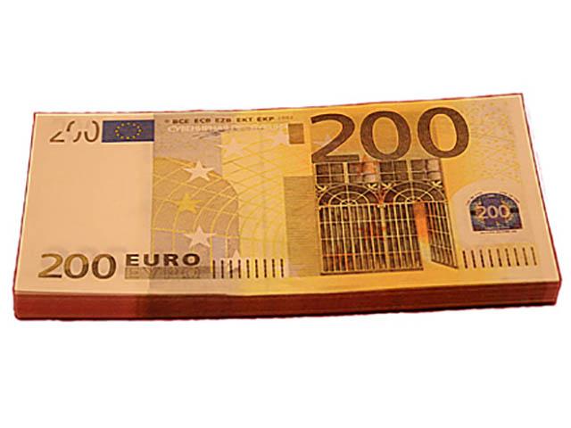 Эврика Забавная Пачка 200 евро 90109