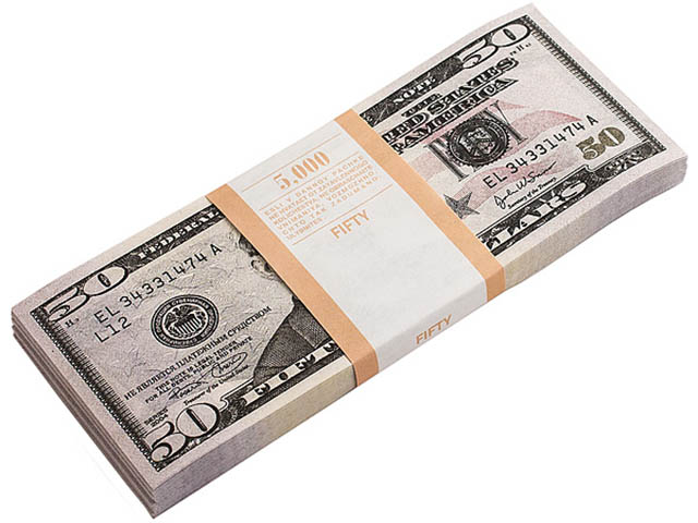 Эврика Забавная Пачка 50 долларов 90106