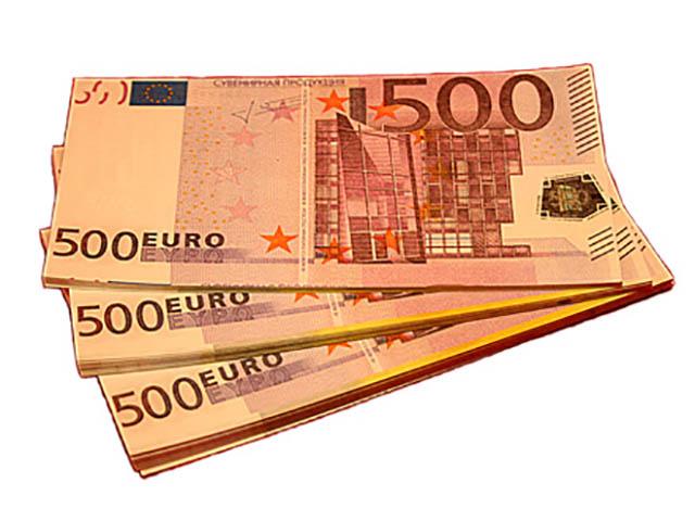 Эврика Забавная Пачка 500 евро 89451