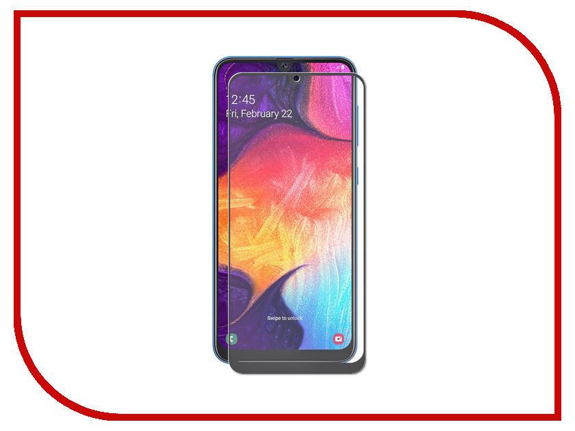 Купить Аксессуар Защитное стекло LuxCase для Samsung Galaxy A50 2019 2.5D Black Frame 78076