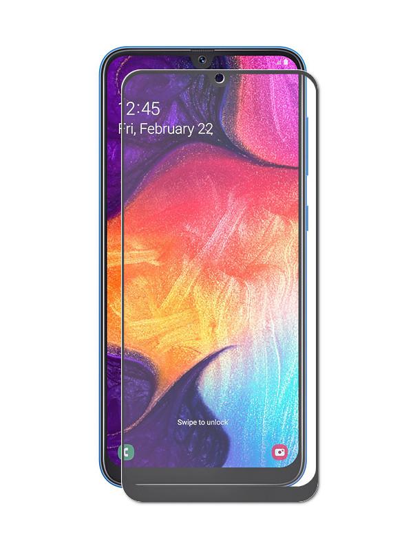 Аксессуар Защитное стекло LuxCase для Samsung Galaxy A20 2019 2.5D FG Black Frame 78073