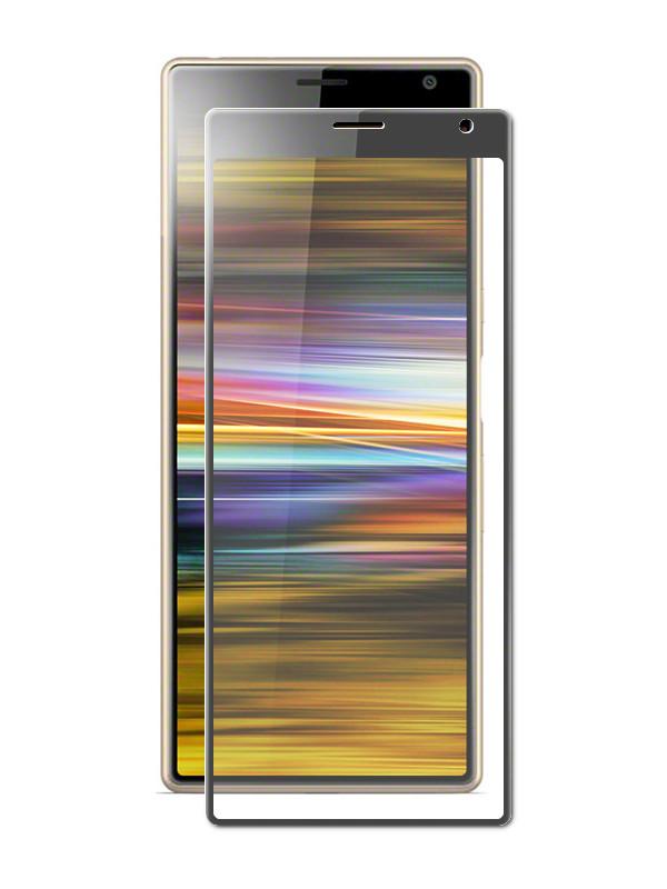 Аксессуар Защитное стекло LuxCase для Sony Xperia 10 Plus 3D Black Frame 78083 магнитый кабель ainy для sony xperia z1 z2 z3 фиолетовый
