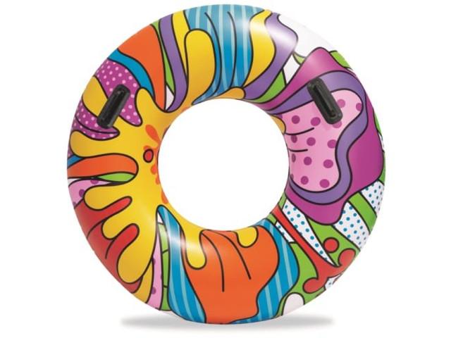 Надувной круг BestWay Поп-Арт 91cm бв36125