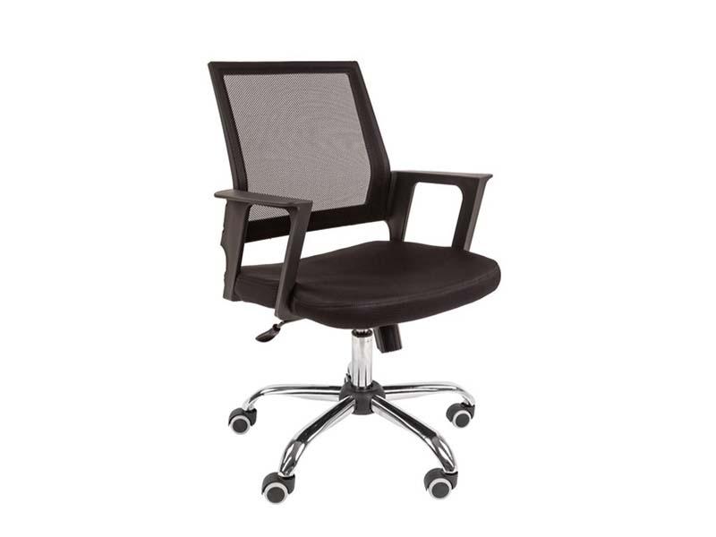 Компьютерное кресло Русские кресла РК 15 Black Chrome