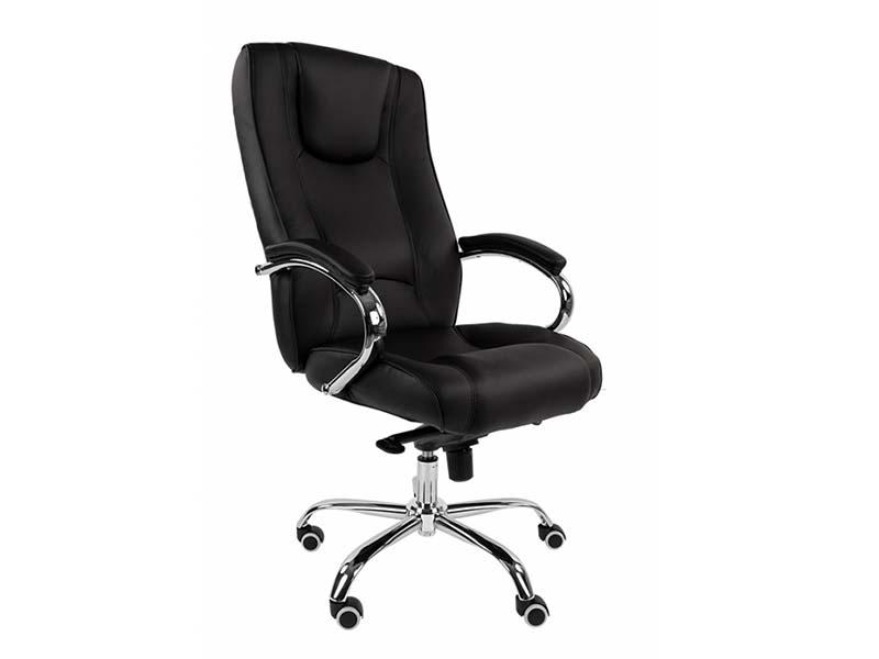 Компьютерное кресло Русские кресла РК 100 PU Chrome Black