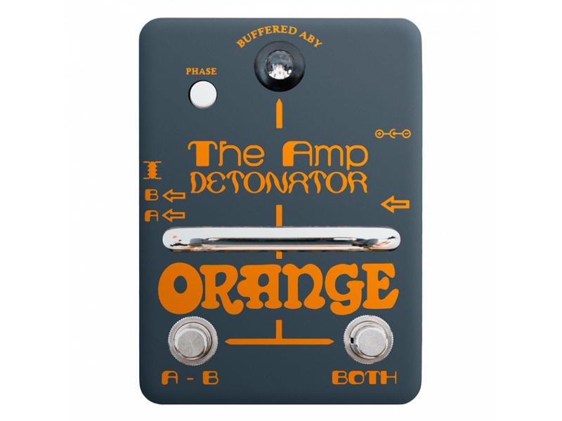 Педаль Orange Amp Detonator