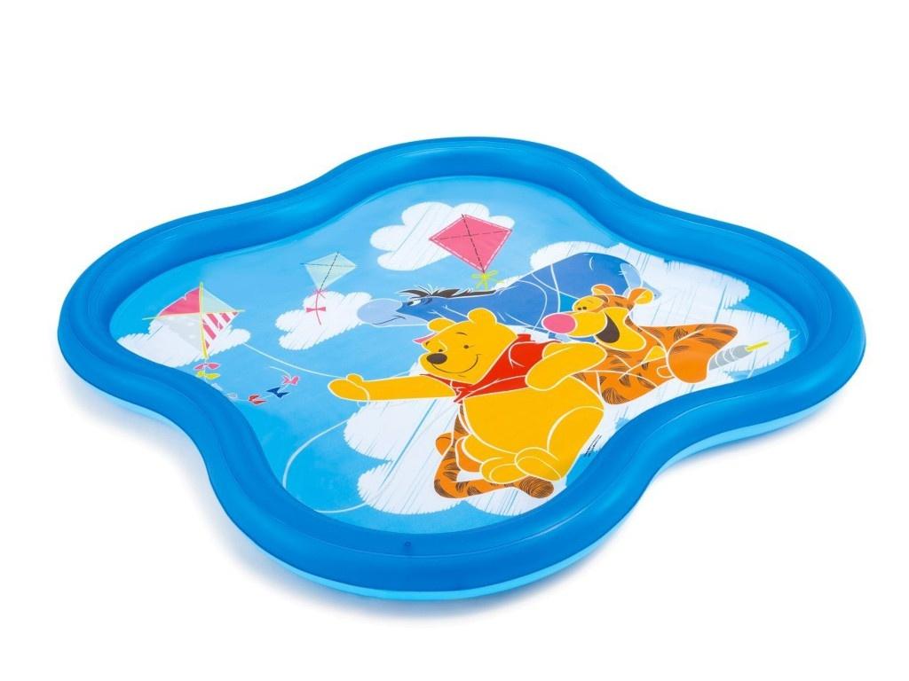 Детский бассейн Intex Винни Пух 140x140x10cm с58433