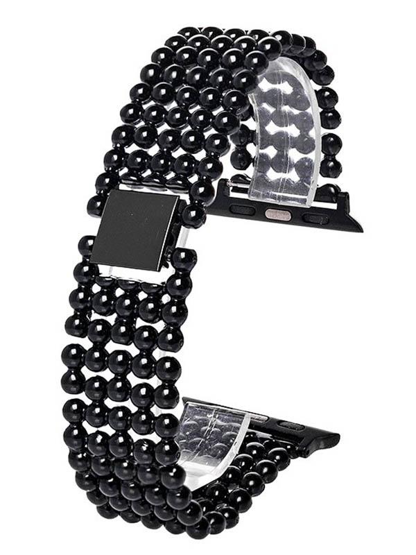 Аксессуар Ремешок Activ Metal 01 для Apple Watch 42/44mm Black 98961