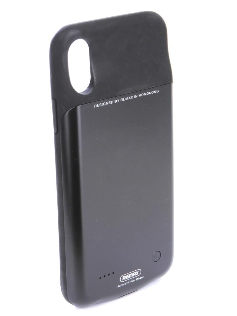 Аксессуар Чехол-аккумулятор Remax для APPLE iPhone X 3200mAh Penen PN-04 Black