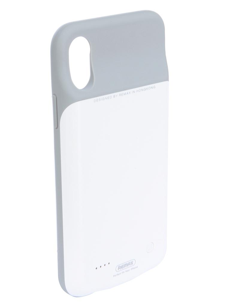 Аксессуар Чехол-аккумулятор Remax для APPLE iPhone X 3200mAh Penen PN-04 White