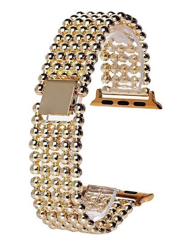 Аксессуар Ремешок Activ Metal 01 для Apple Watch 38/40mm Gold 98958