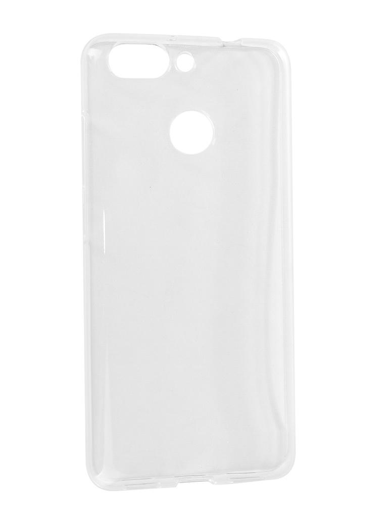 Аксессуар Чехол iBox для ZTE Blade V9 Vita Crystal Silicone Transparent УТ000017760