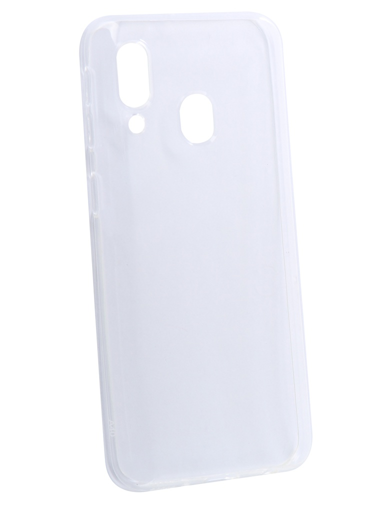 Чехол iBox для Samsung Galaxy A40 Crystal Silicone Transparent УТ000017418 цена и фото