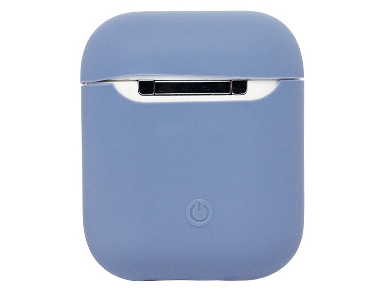 Аксессуар Чехол Activ Soft Touch для Apple AirPods Blue Horizon 97766