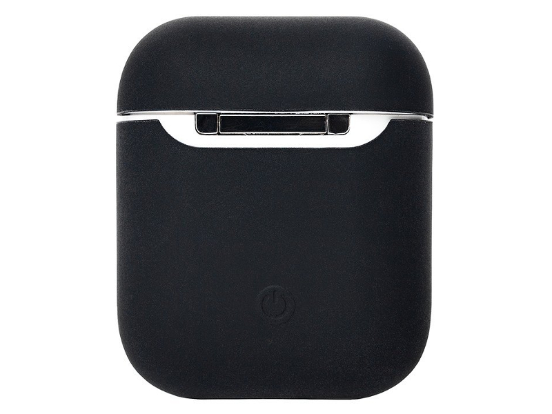 Аксессуар Чехол Activ Soft touch для Apple AirPods Black 97764