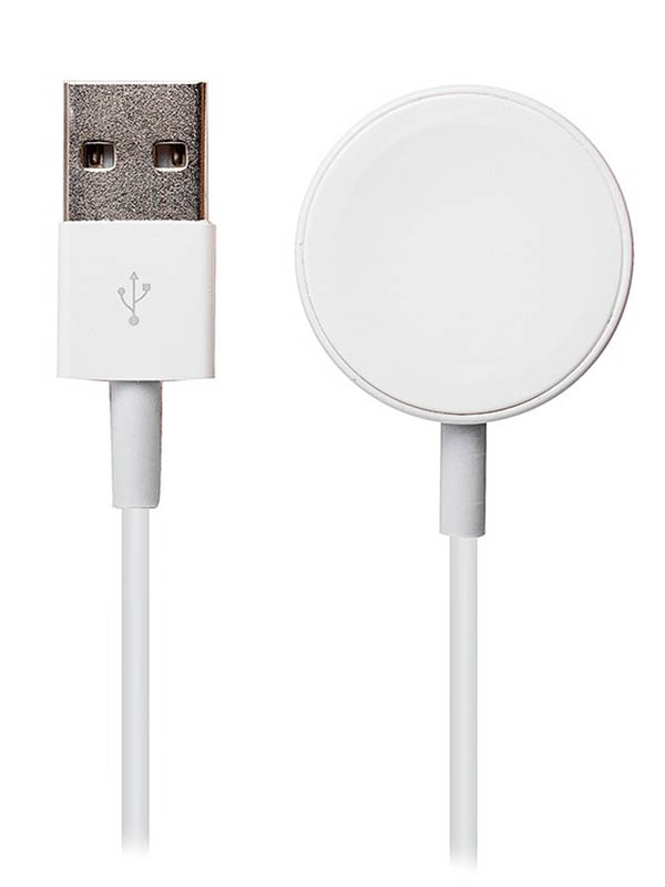 Аксессуар Кабель для зарядки Activ USB-Magnetic Apple Watch 1m White 98939
