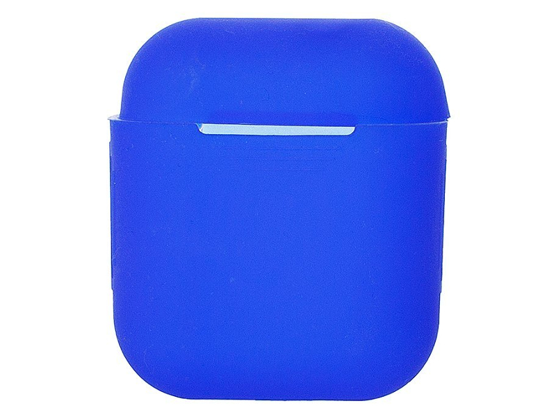 Чехол Activ для APPLE AirPods Silicone Blue 97775