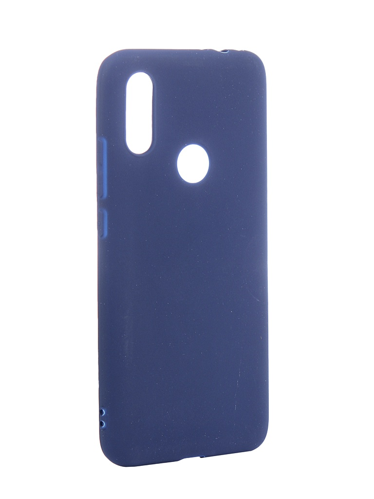 Аксессуар Чехол Neypo Soft Matte для Xiaomi Redmi 7 Dark-Blue NST11602