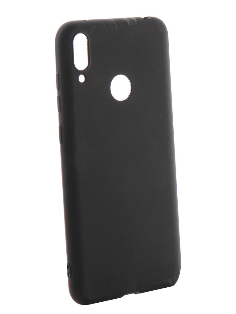 Аксессуар Чехол Neypo для Huawei Y7 2019 Soft Matte Silicone Black NST11610