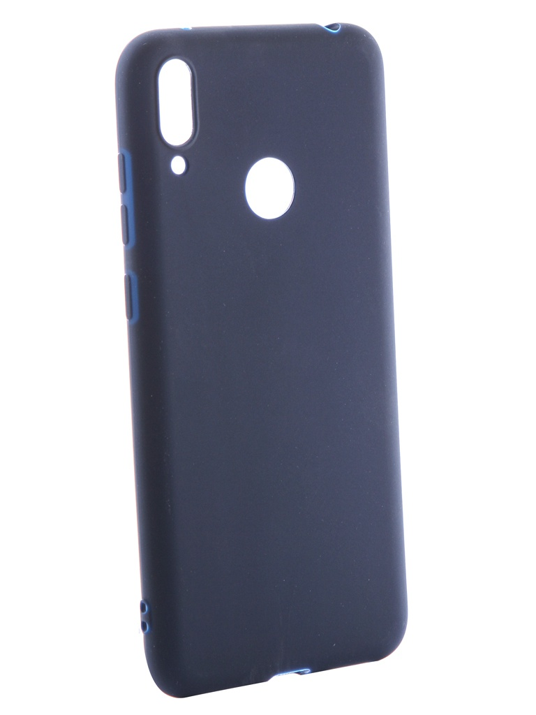 Аксессуар Чехол Neypo для Huawei Y7 2019 Soft Matte Silicone Dark Blue NST11609 аксессуар чехол для huawei y6 2019 neypo soft matte silicone dark blue nst11315