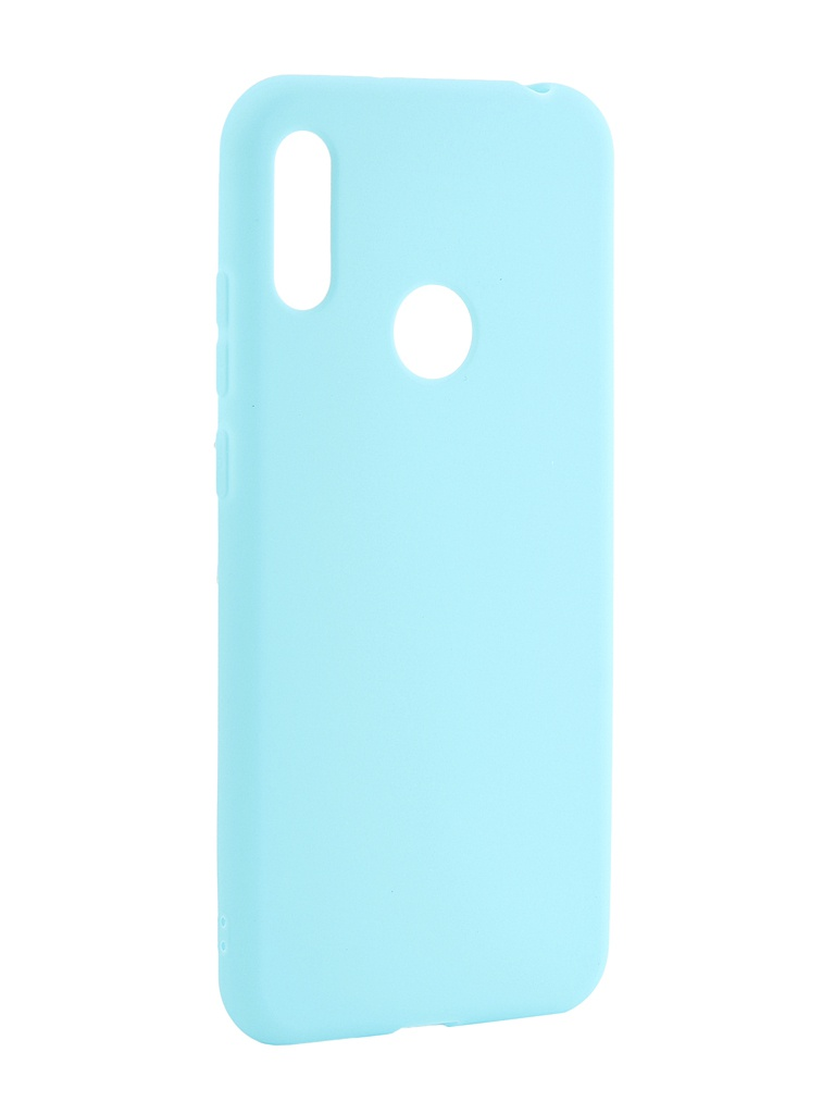 Аксессуар Чехол Neypo для Huawei Y6 2019 Soft Matte Silicone Turquoise NST11316