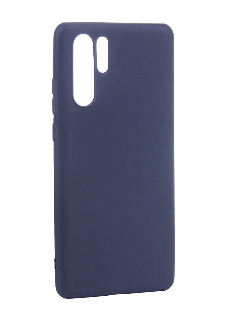 Чехол Neypo для Huawei P30 Pro Soft Matte Silicone Dark Blue NST7196