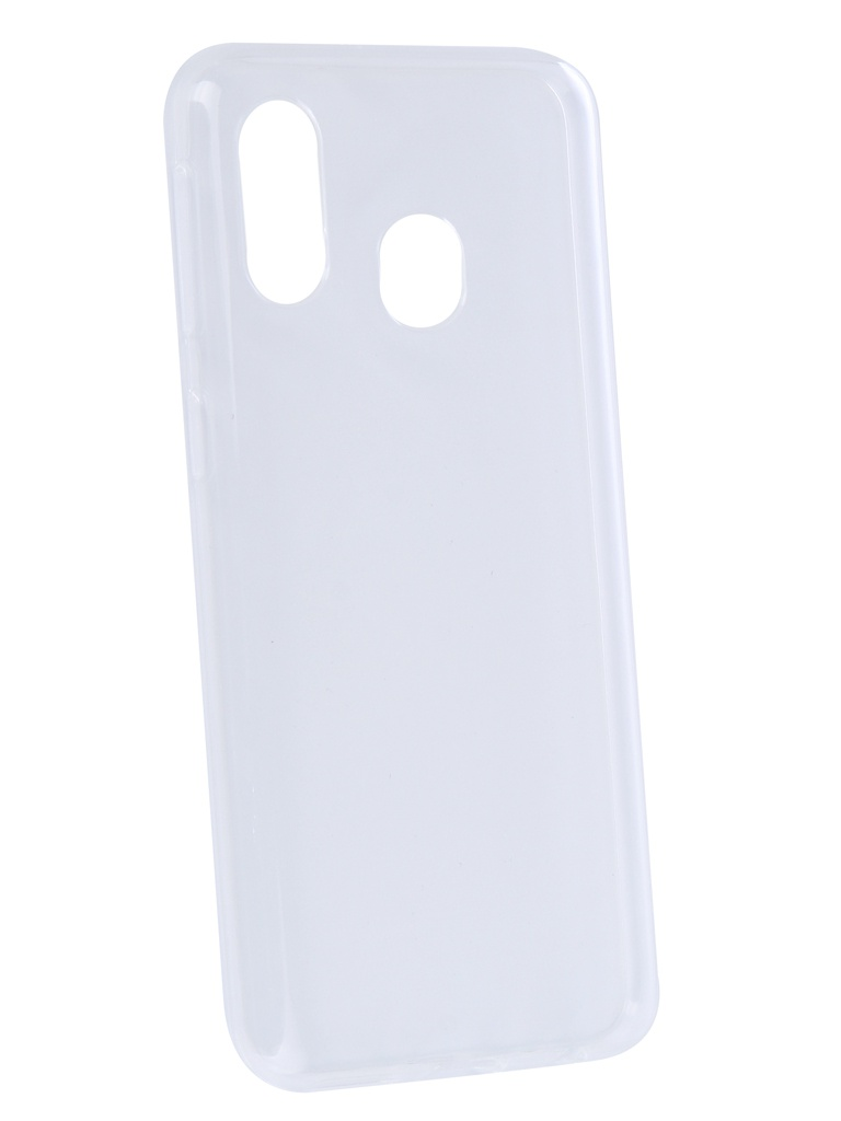 Аксессуар Чехол Zibelino для Samsung Galaxy A40 A405 2019 Ultra Thin Case Transparent ZUTC-SAM-A405-WHT