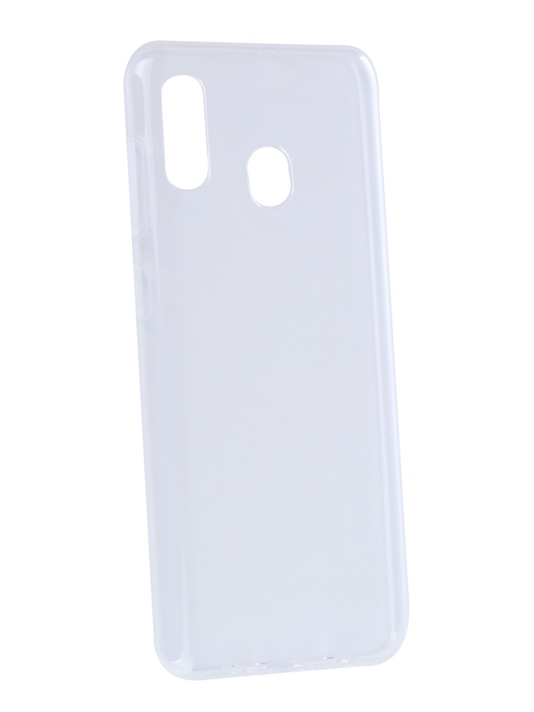 Аксессуар Чехол Zibelino для Samsung Galaxy A20 A205 2019 Ultra Thin Case Transparent ZUTC-SAM-A205-WHT