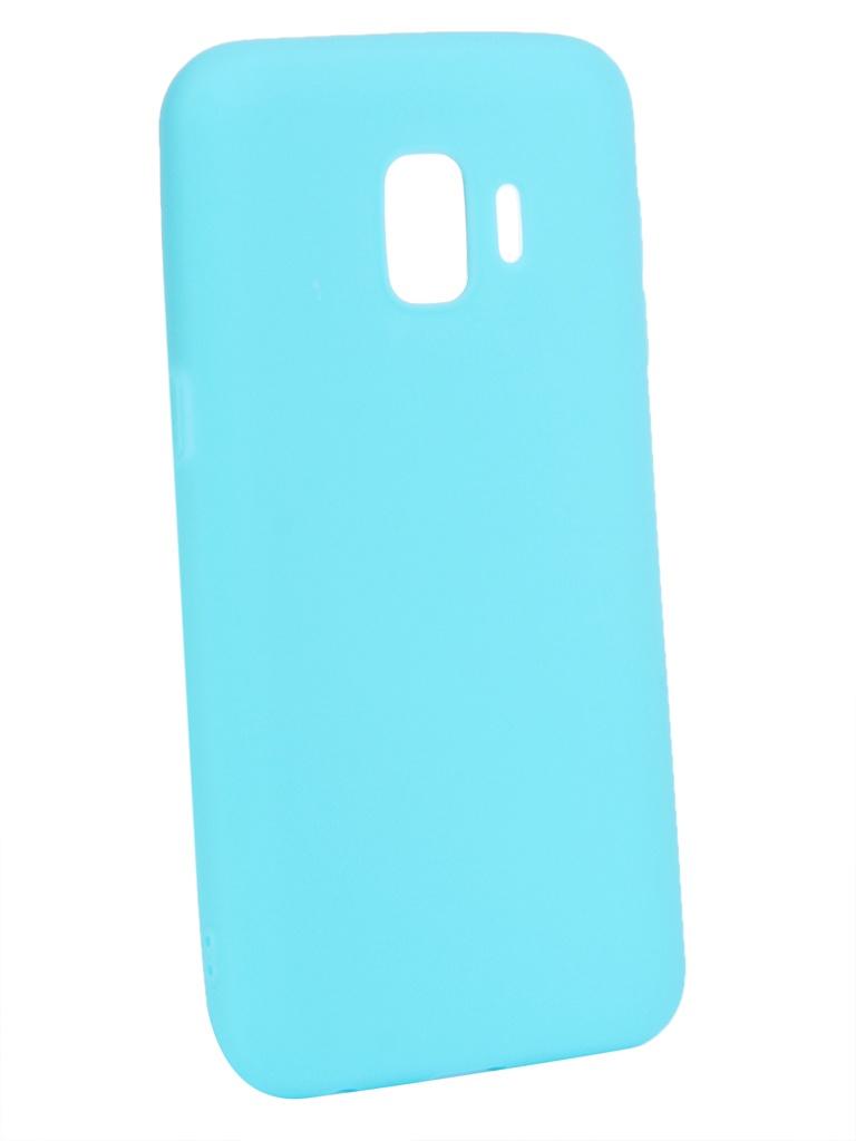 Аксессуар Чехол Zibelino для Samsung Galaxy J2 Core J260F 2018 Soft Matte Turquoise ZSM-SAM-J260F-TGS