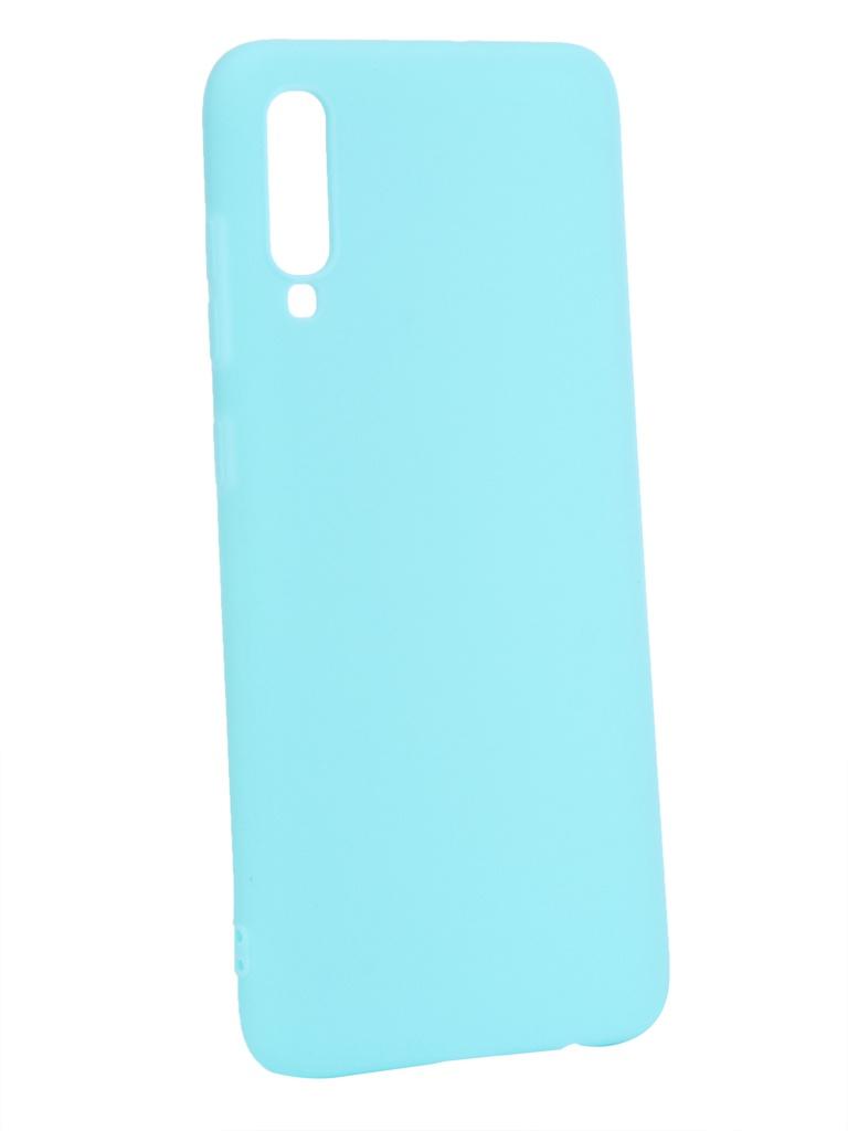 Аксессуар Чехол Zibelino для Samsung Galaxy A70 A705 2019 Soft Matte Turquoise ZSM-SAM-A70-TQS