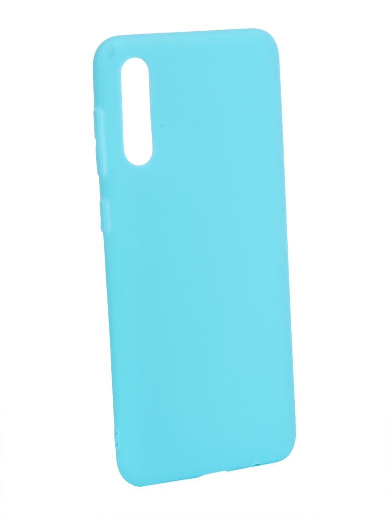 Аксессуар Чехол Zibelino для Samsung Galaxy A50 A505 2019 Soft Matte Turquoise ZSM-SAM-A50-TQS