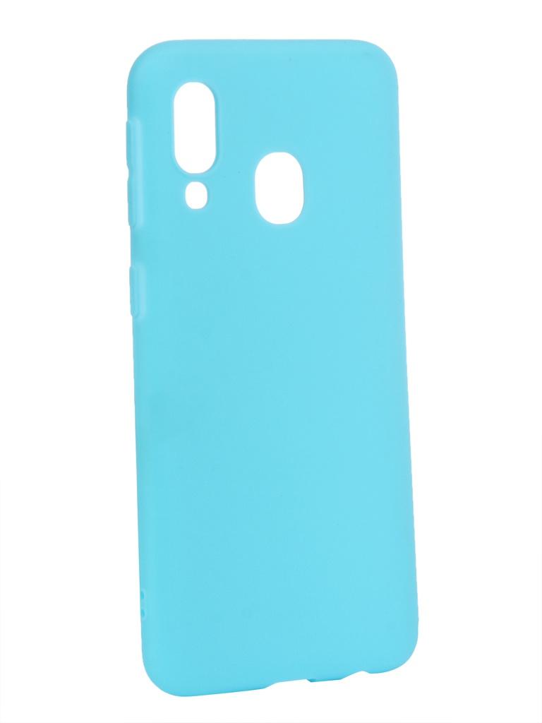 Аксессуар Чехол Zibelino для Samsung Galaxy A40 A405 2019 Soft Matte Turquoise ZSM-SAM-A40-TQS