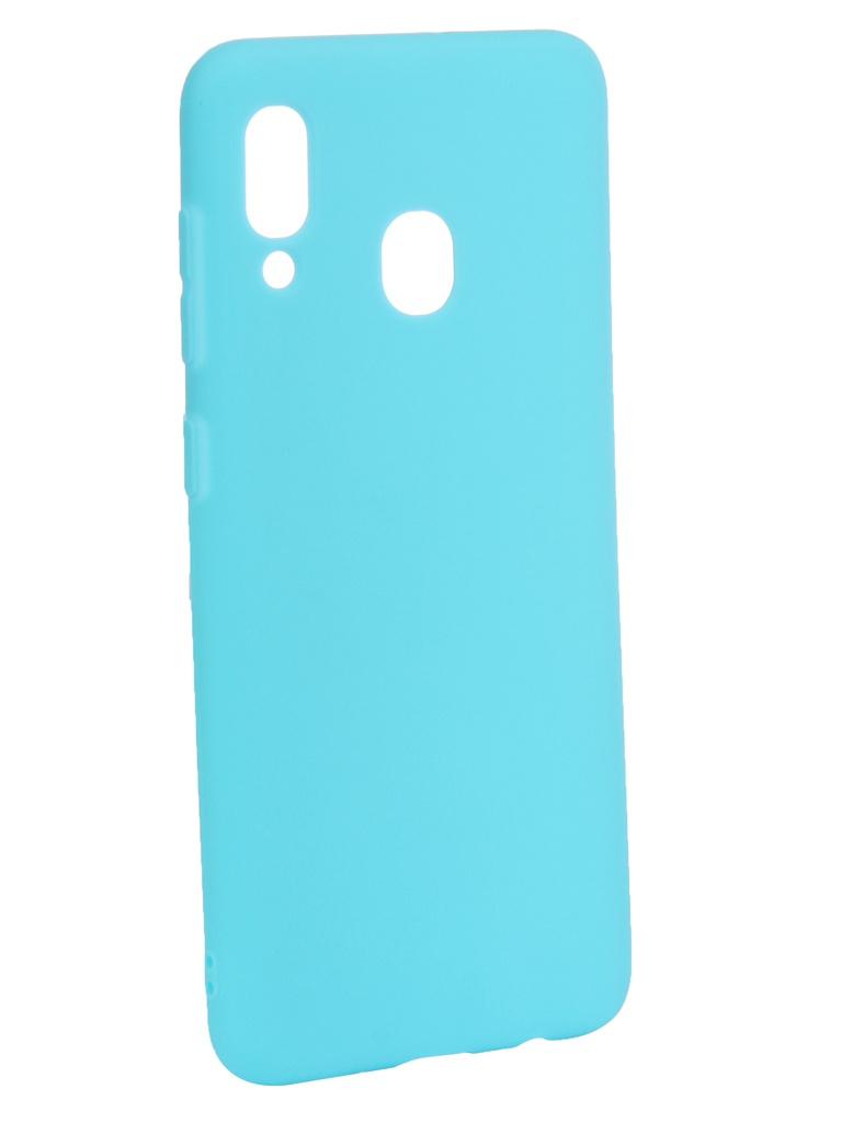Аксессуар Чехол Zibelino для Samsung Galaxy A30 A305 2019 Soft Matte Turquoise ZSM-SAM-A30-TQS