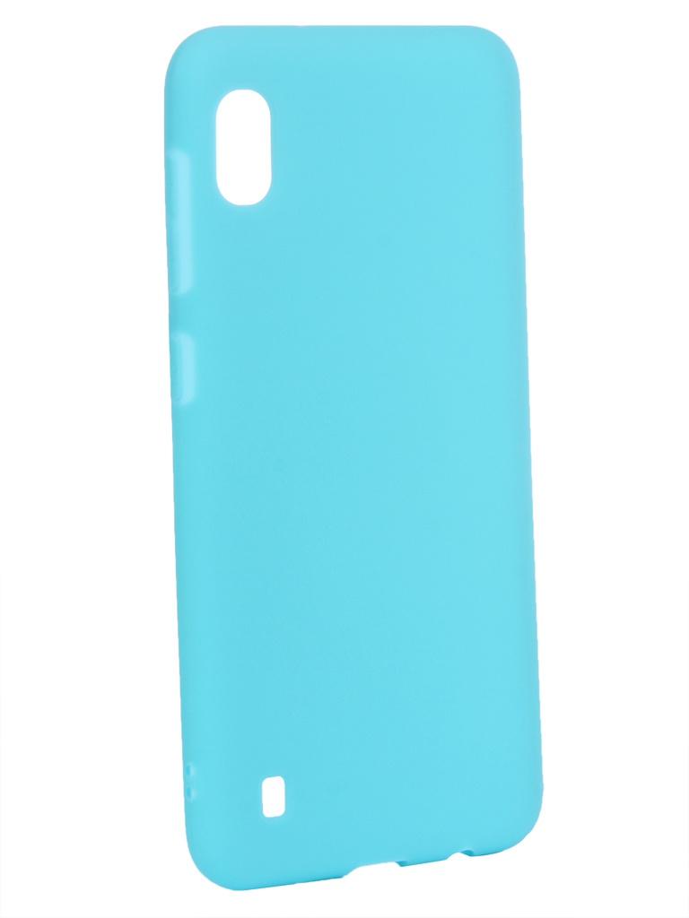 Чехол Zibelino для Samsung Galaxy A10 A105 2019 Soft Matte Turquoise ZSM-SAM-A10-TQS