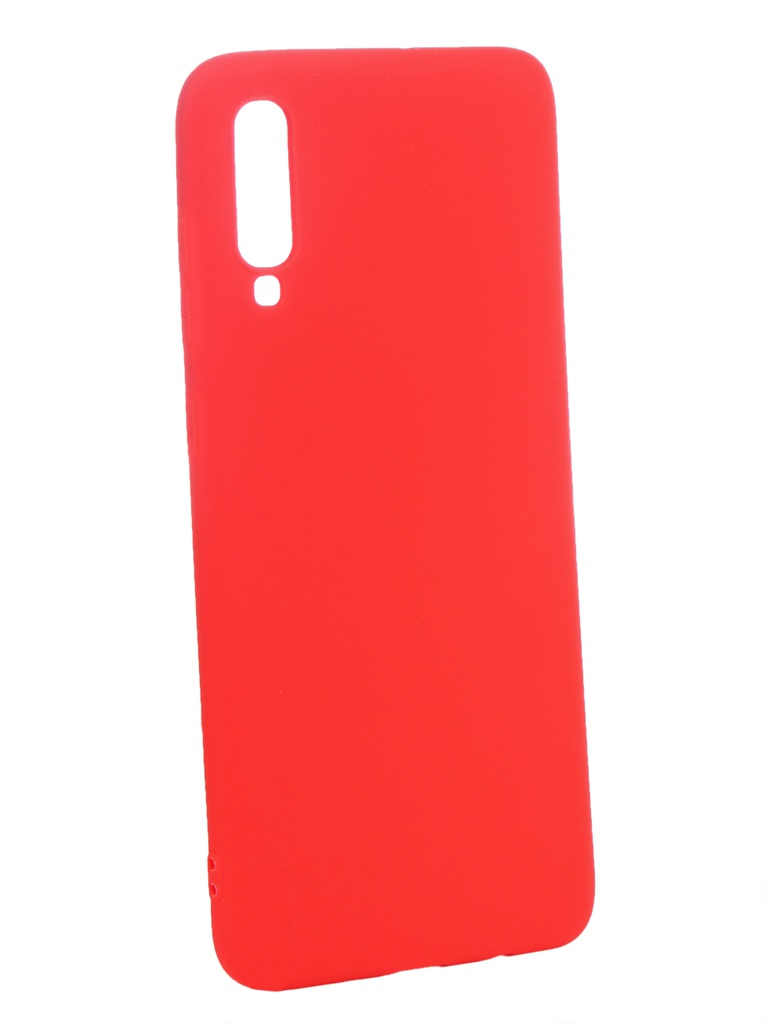 Аксессуар Чехол Zibelino для Samsung Galaxy A70 A705 2019 Soft Matte Red ZSM-SAM-A70-RED