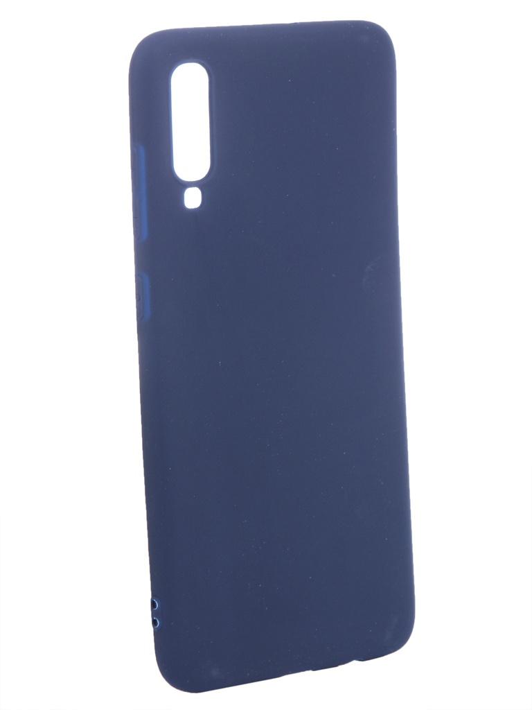 Аксессуар Чехол Zibelino для Samsung Galaxy A70 A705 2019 Soft Matte Dark Blue ZSM-SAM-A70-DBLU