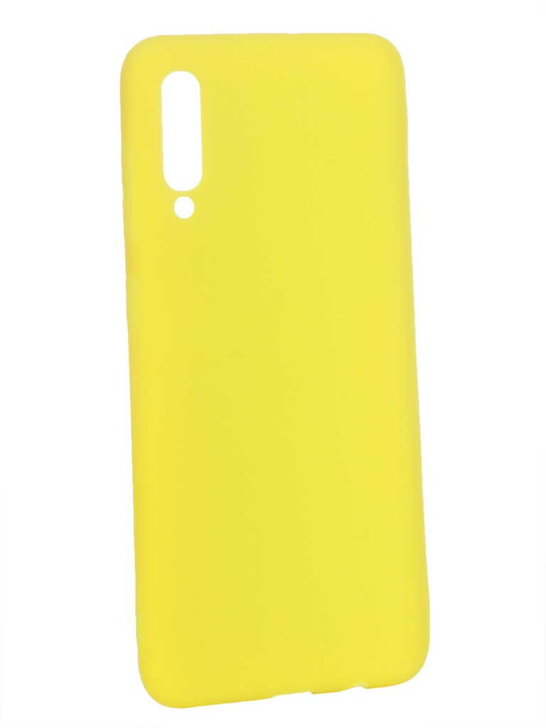 Аксессуар Чехол Zibelino для Samsung Galaxy A50 A505 2019 Soft Matte Yellow ZSM-SAM-A50-YEL аксессуар чехол zibelino для samsung galaxy j2 core j260f 2018 soft matte yellow zsm sam j260f yel