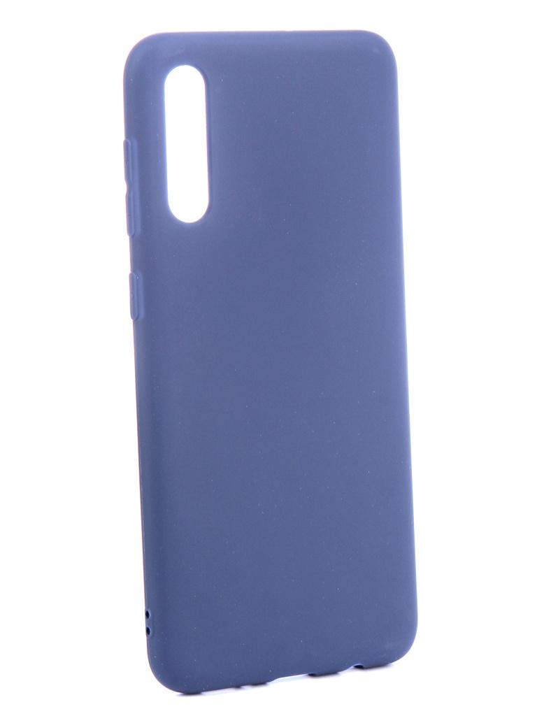 Аксессуар Чехол Zibelino для Samsung Galaxy A50 A505 2019 Soft Matte Blue ZSM-SAM-A50-BLU