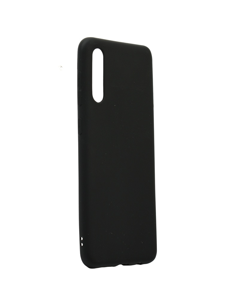 Аксессуар Чехол Zibelino для Samsung Galaxy A50 A505 2019 Soft Matte Black ZSM-SAM-A50-BLK