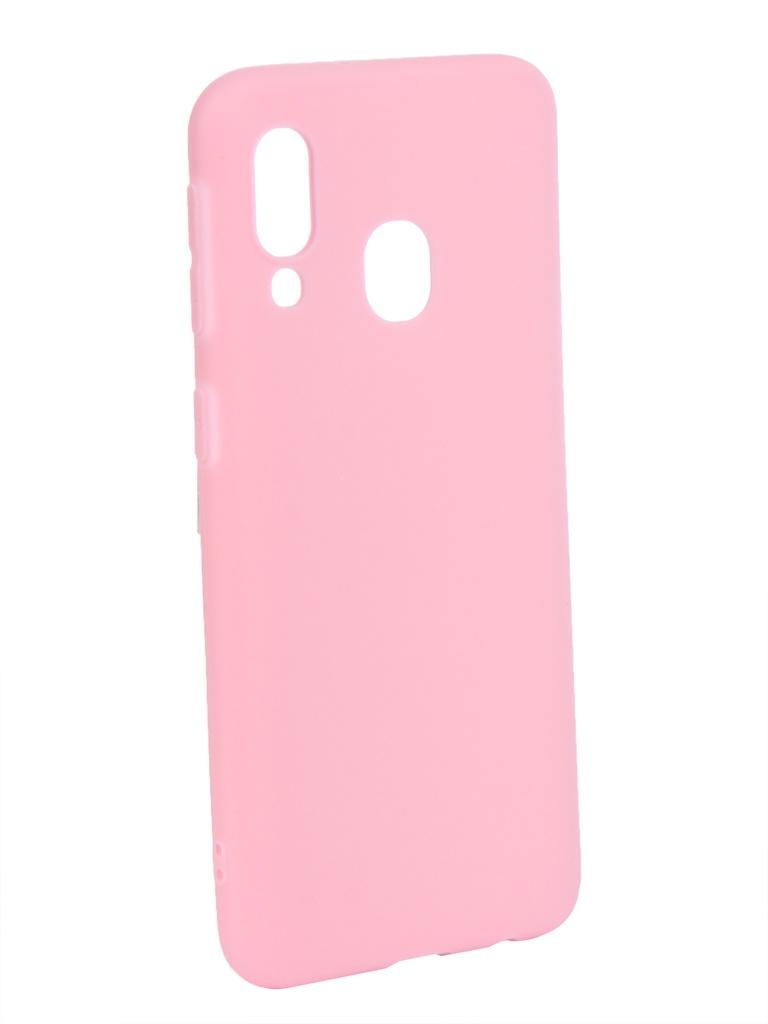 Аксессуар Чехол Zibelino для Samsung Galaxy A40 A405 2019 Soft Matte Pink ZSM-SAM-A40-PNK