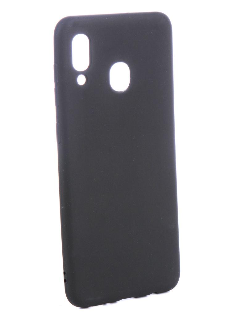 Аксессуар Чехол Zibelino для Samsung Galaxy A30 A305 2019 Soft Matte Black ZSM-SAM-A30-BLK аксессуар чехол samsung galaxy a5 2017 zibelino classico black zcl sam a5 2017 blk