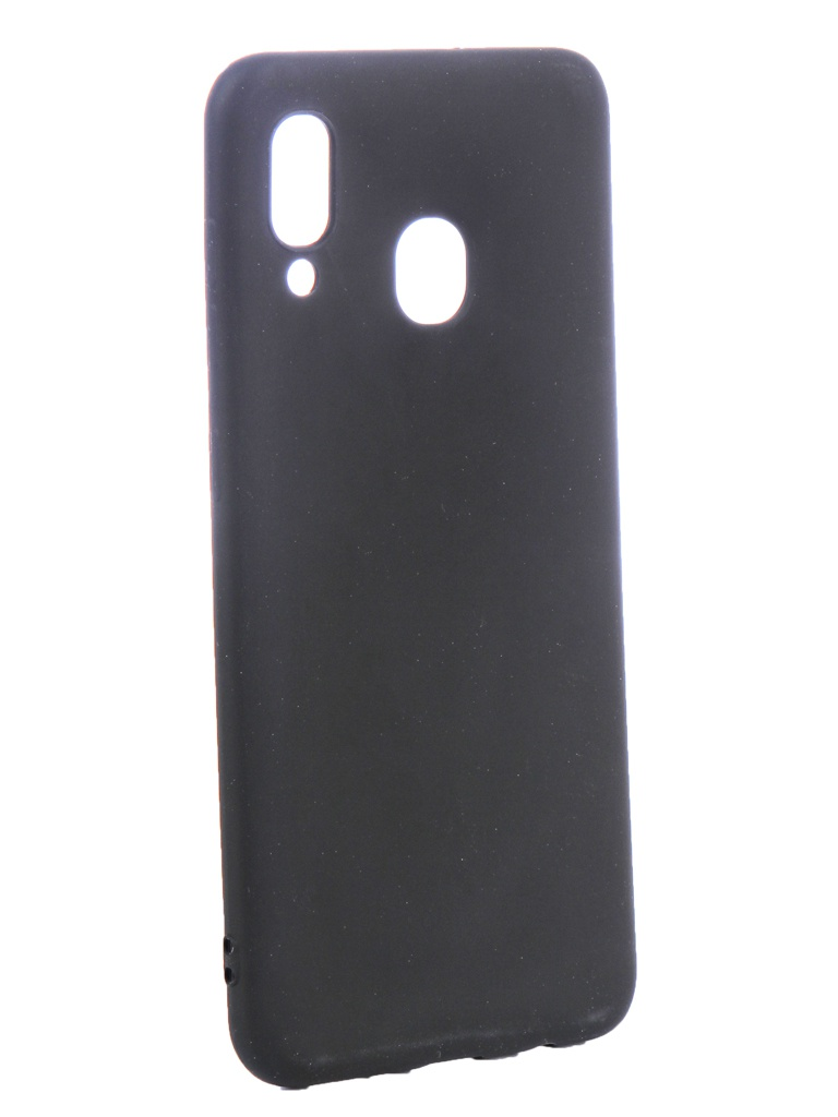 Аксессуар Чехол Zibelino для Samsung Galaxy A20 A205 2019 Soft Matte Black ZSM-SAM-A20-BLK